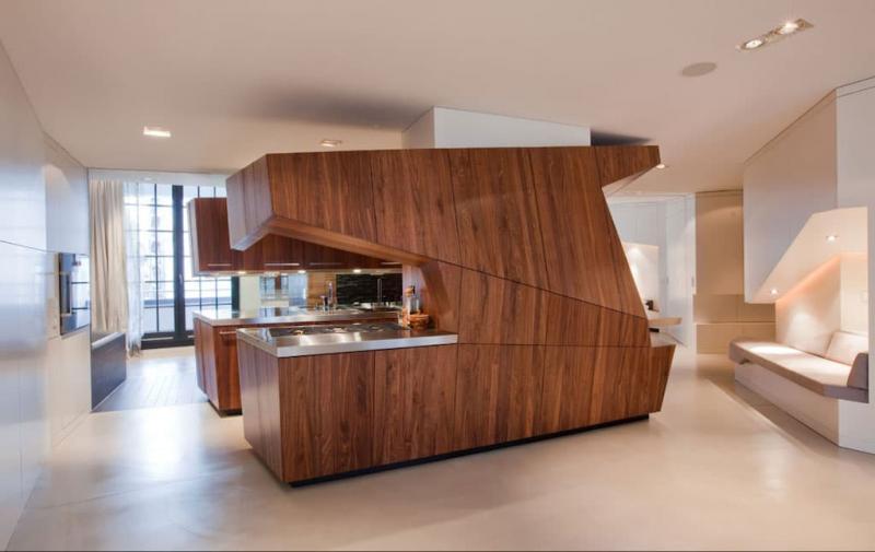 Кухня в современном стиле - фото 1