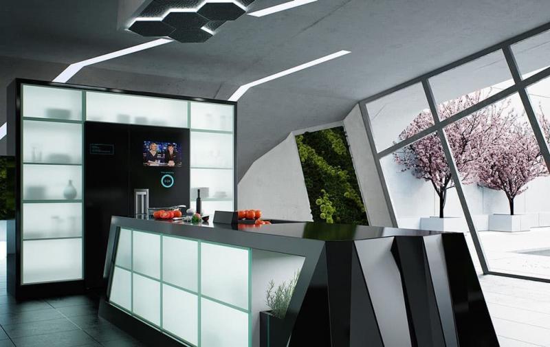 Кухня в современном стиле - фото 2