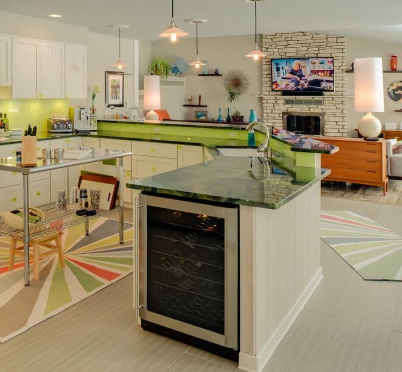 Кухня в стиле эклектика 5