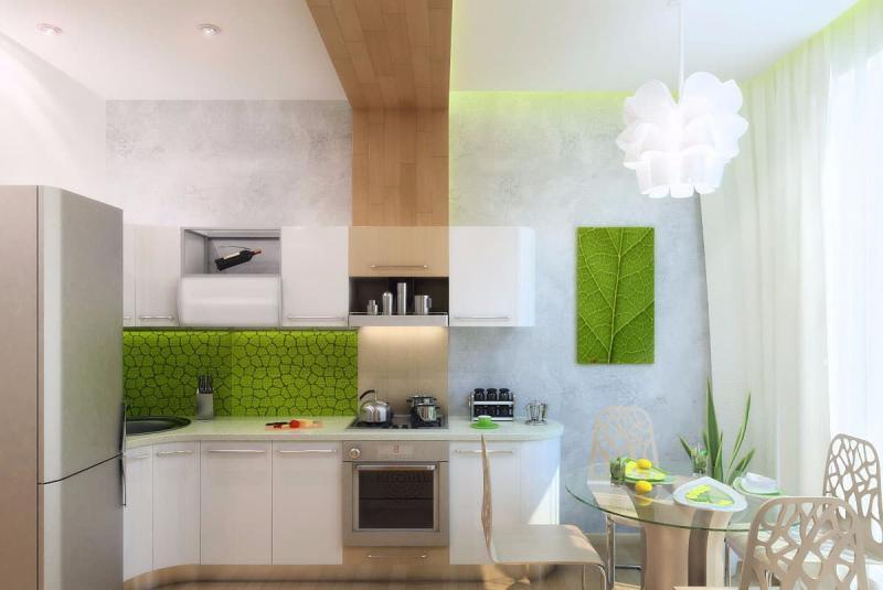 Кухня в стиле эко 2