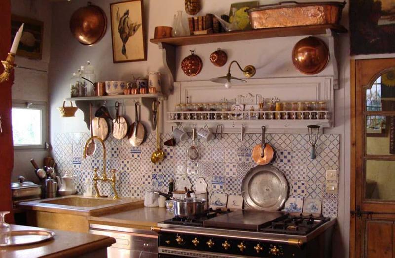 Прованс на кухне своими руками 74