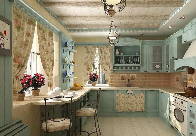 Кухня в стиле прованс - фото 4