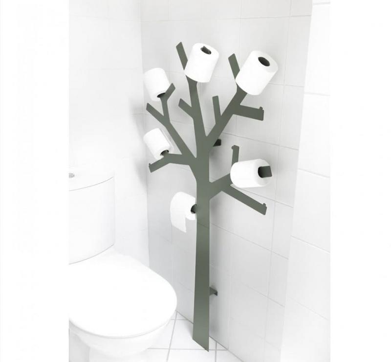 Дерево для туалетной бумаги