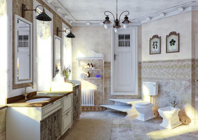 Крутые решения для ванной 5