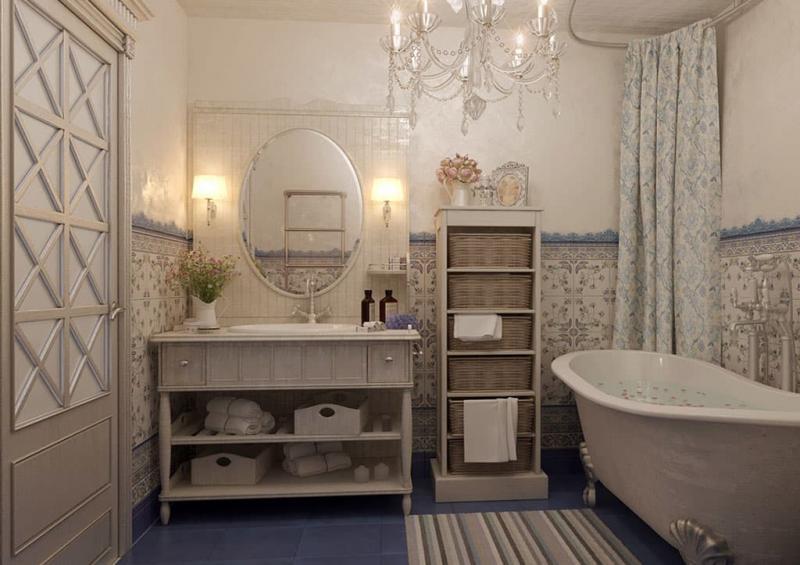 Крутые решения для ванной 7