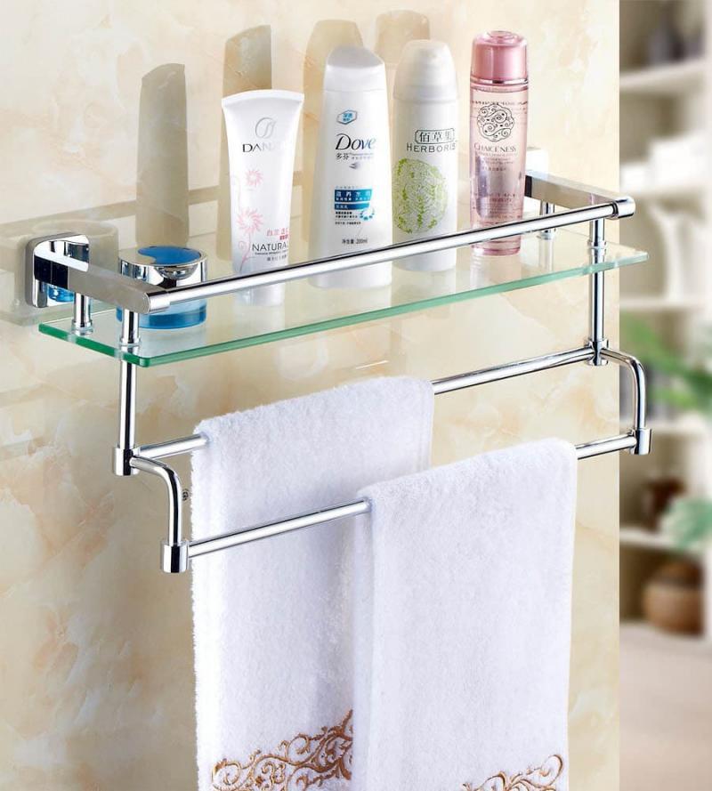 Открытые полки для ванной 2