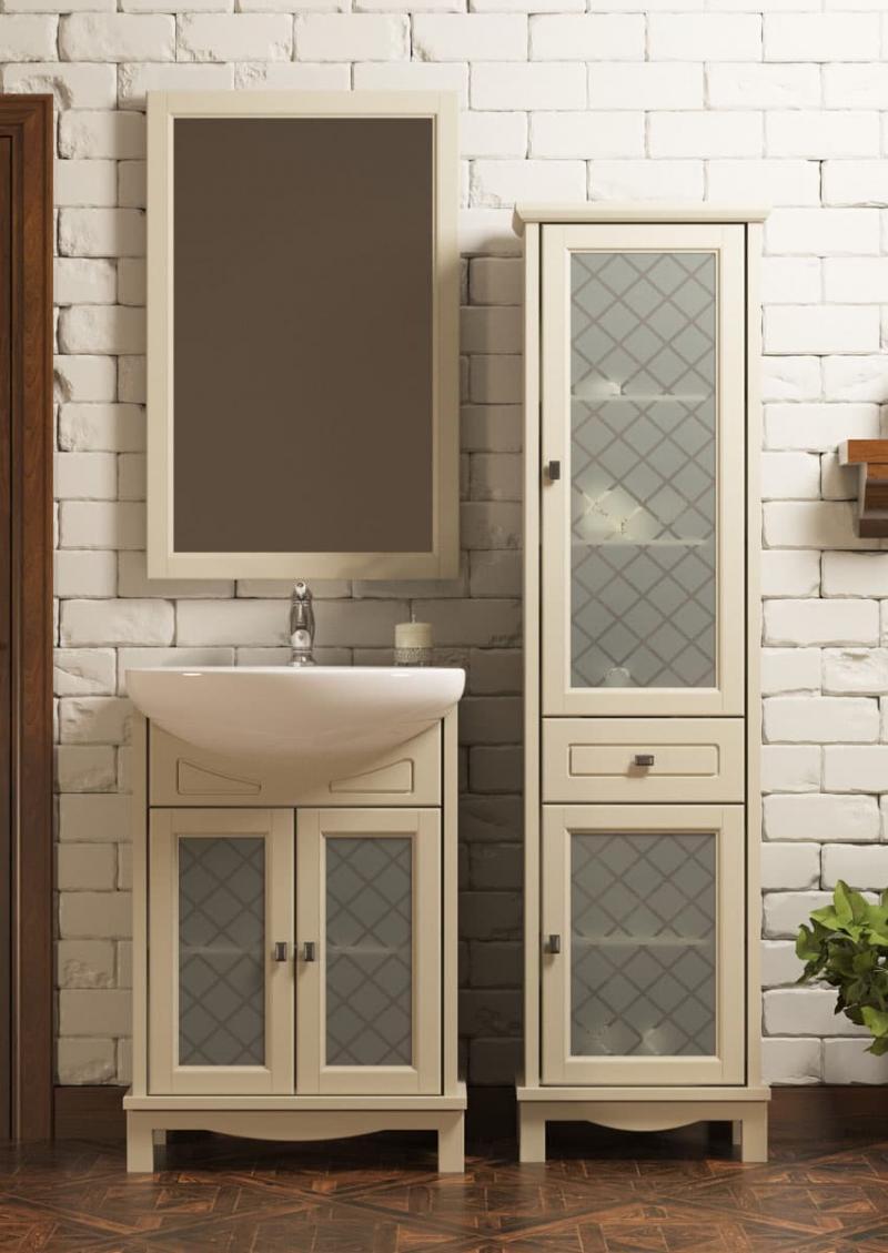 Шкаф-пенал для ванной 4