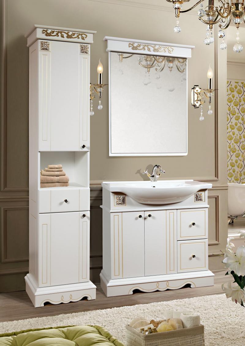 Шкаф-пенал для ванной 5