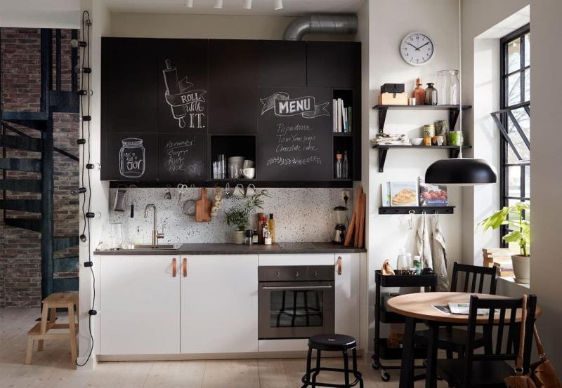Дизайн маленькой кухни 101