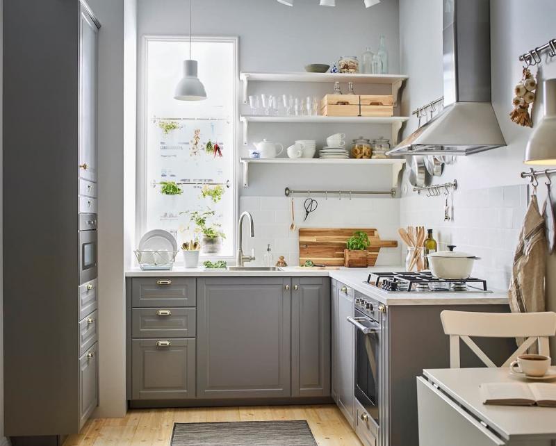 Дизайн маленькой кухни 102