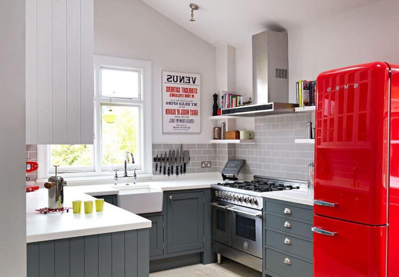 Дизайн маленькой кухни 103