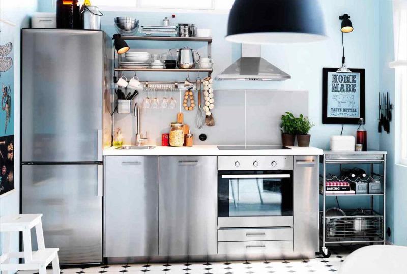 Дизайн маленькой кухни 104