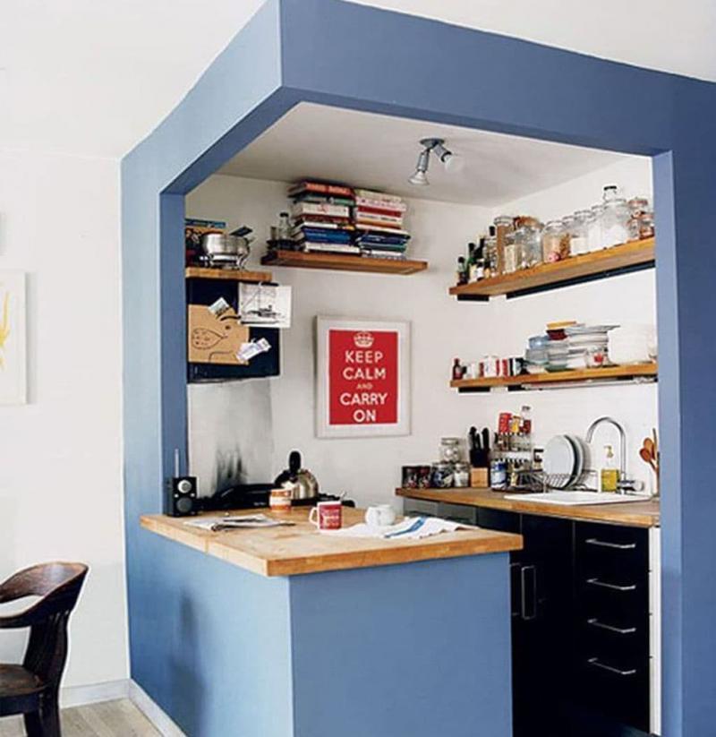 Дизайн маленькой кухни 4