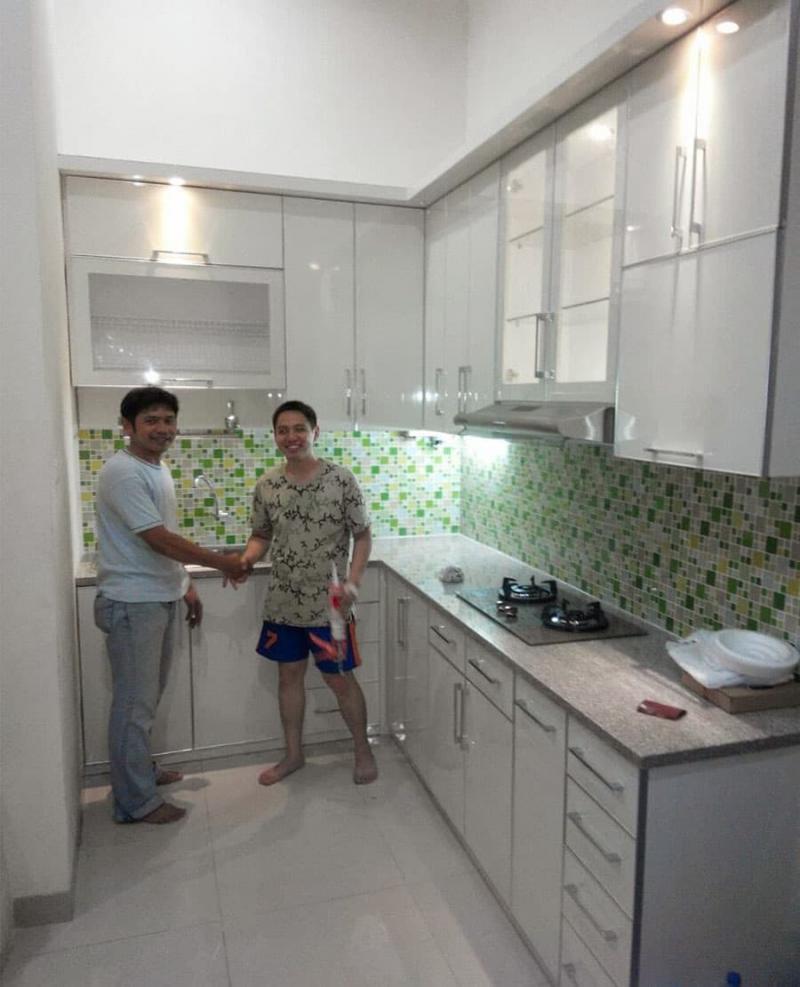 Интерьер кухни 6 кв.м 1