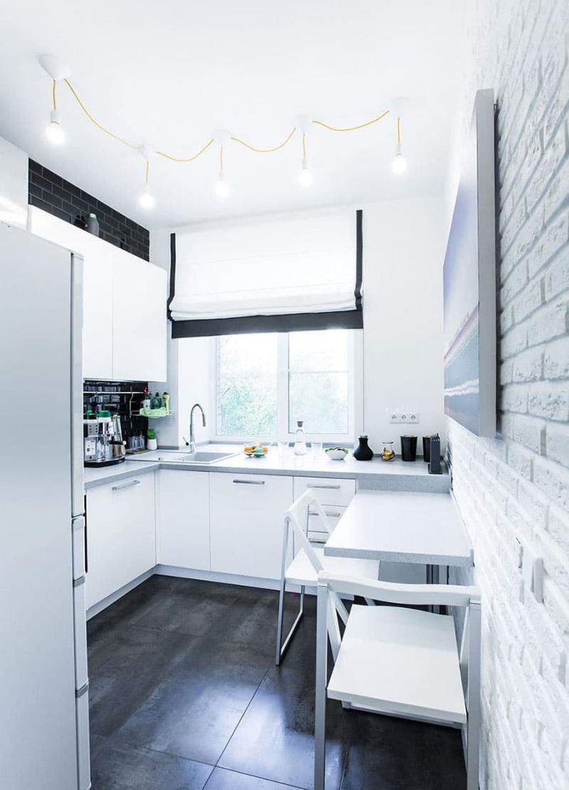 Интерьер кухни 6 кв.м 2