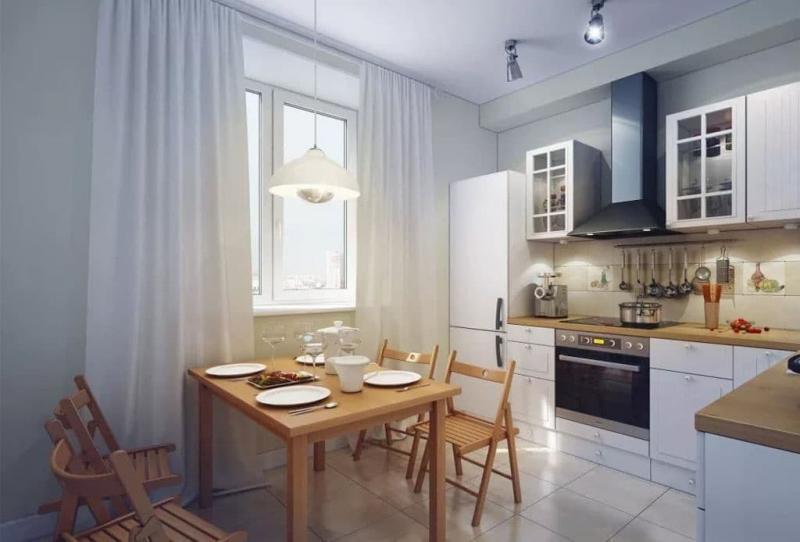 Интерьер кухни 8 кв.м 2