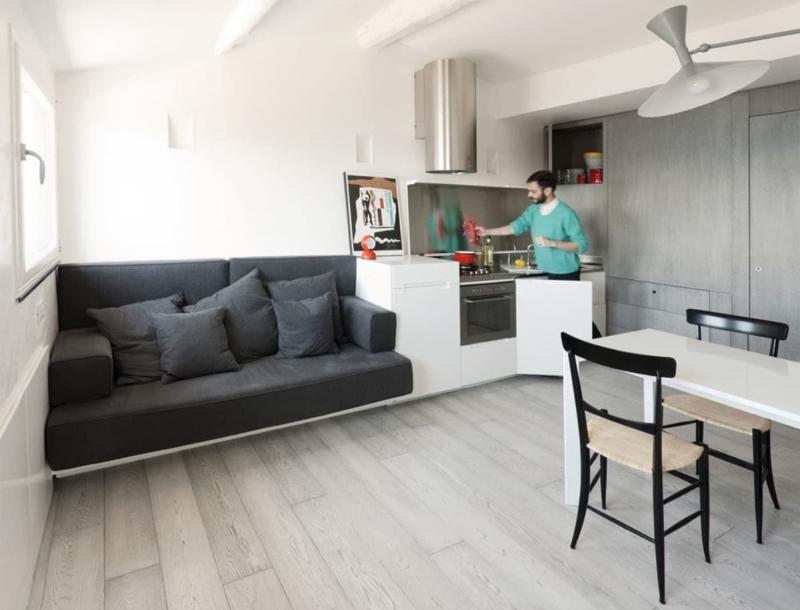 Интрьер кухни-гостиной 3