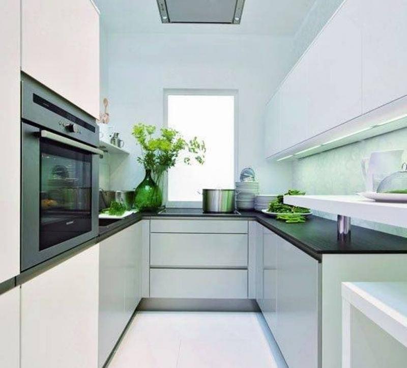 Маленькая кухня в современном стиле 2