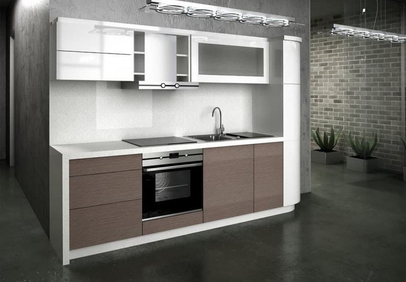 Маленькая кухня в современном стиле 3