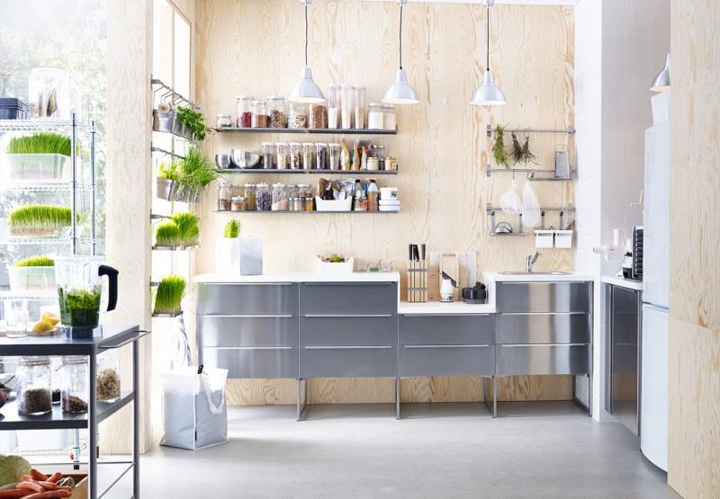 Хранение специй в интерьере кухни