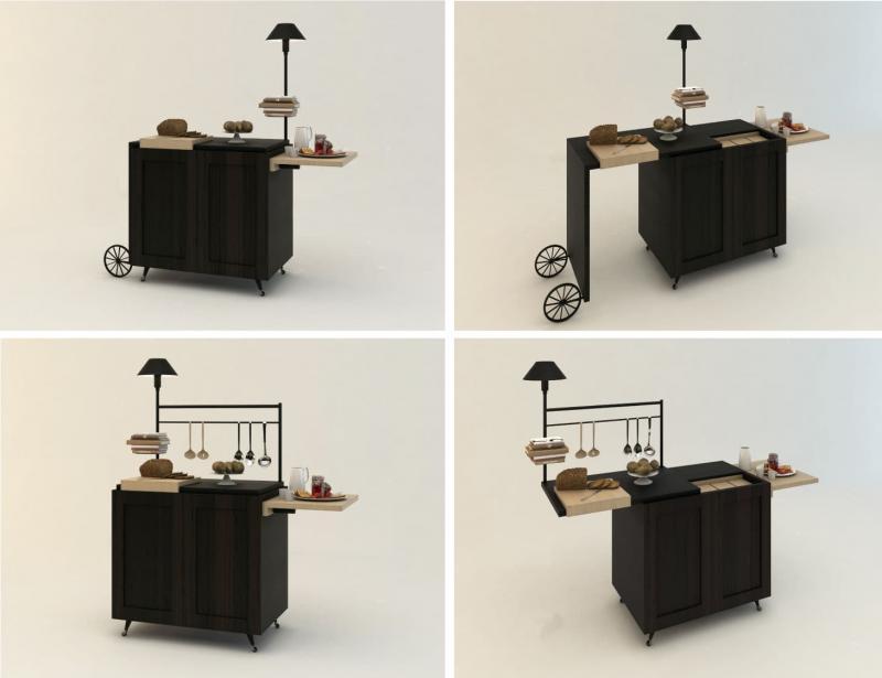 Интересная мини-кухня 2