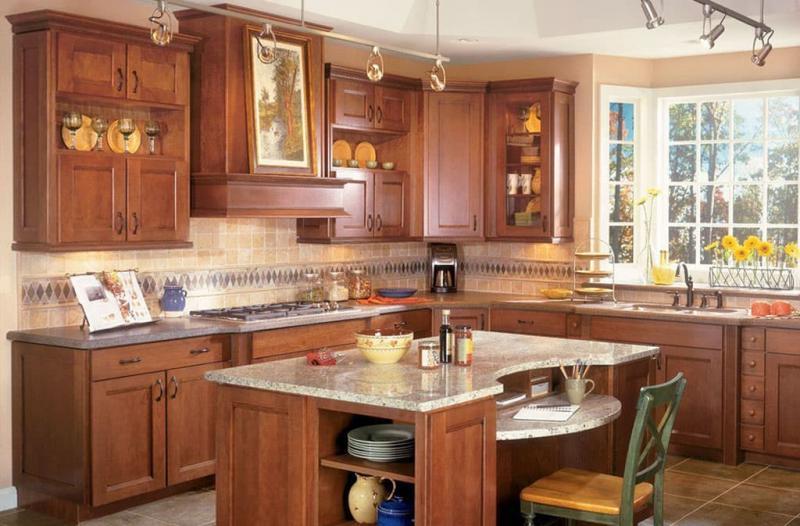 Кухня с вытяжкой 5