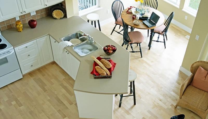 Пол для кухни (ламинат)