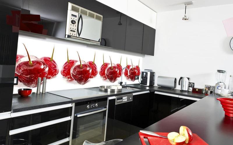 Скинали в интерьере кухни 4
