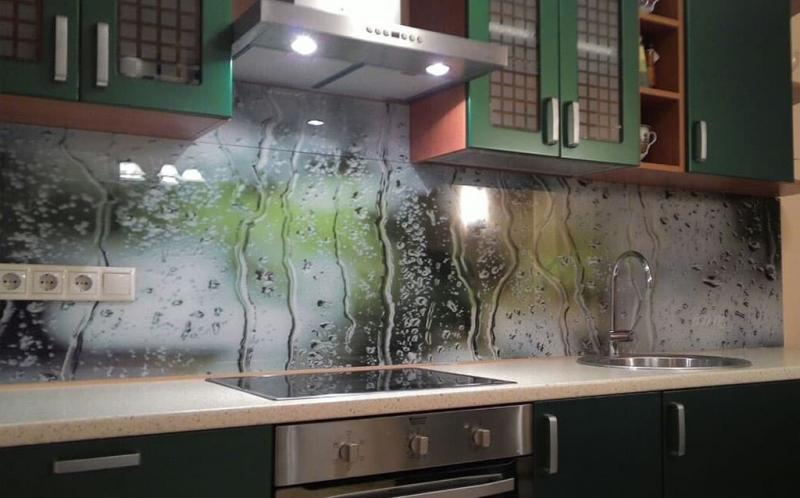 Скинали в интерьере кухни 5