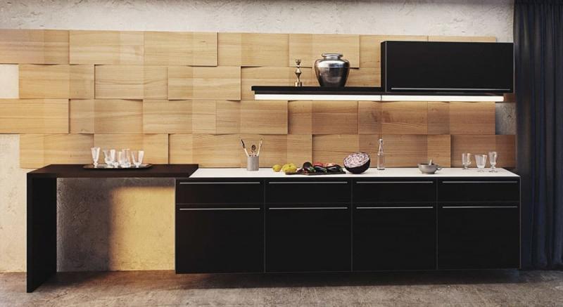 Стеновая панель для кухни 1