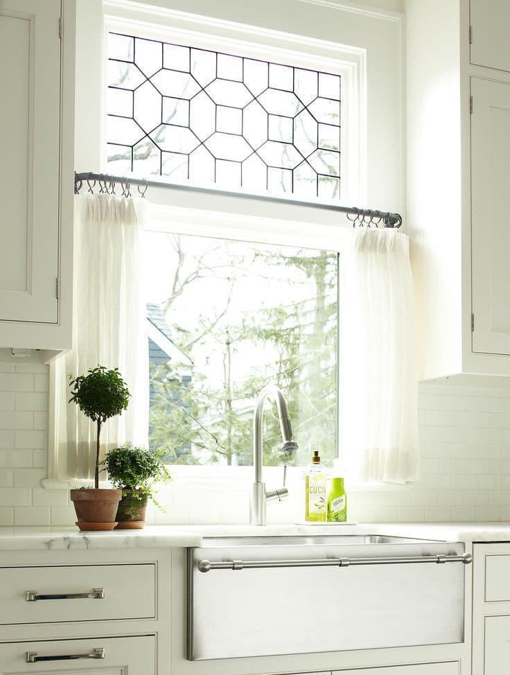 Занавески для кухни 1