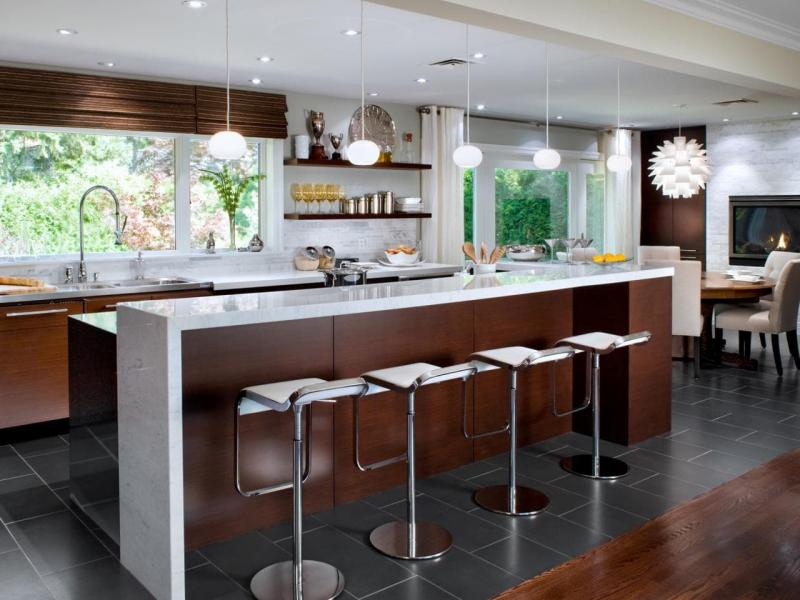 Шторы для кухни в современном стиле 10