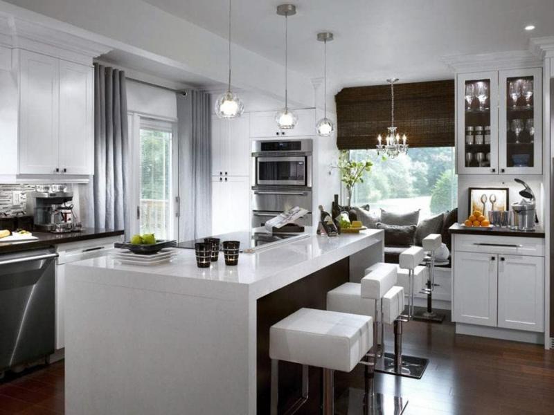 Шторы для кухни в современном стиле 2