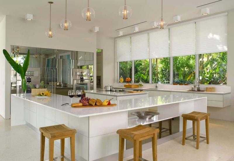 Curtains for kitchen in modern style 3