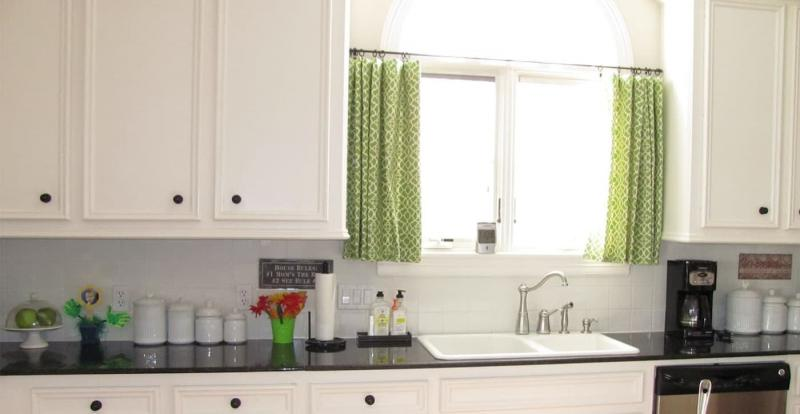 Curtains for kitchen in modern style 4