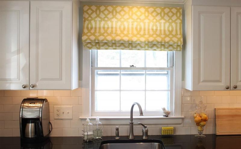 Curtains for kitchen in modern style 5