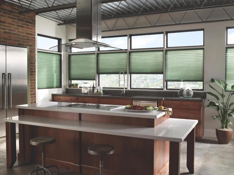 Шторы для кухни в современном стиле 6