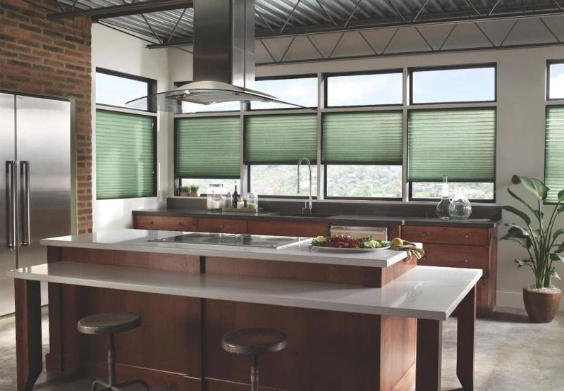 Curtains for kitchen in modern style 6