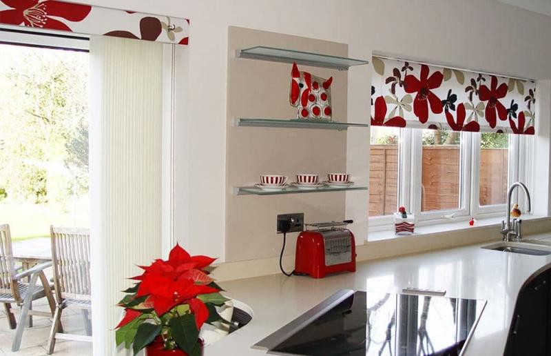 Curtains for kitchen in modern style 7