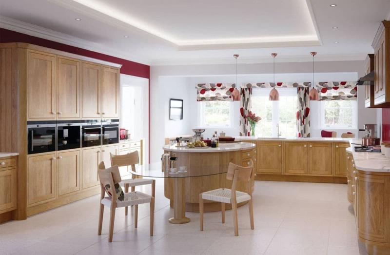Curtains for kitchen in modern style 8