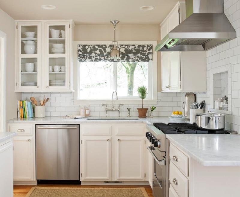 Шторы для кухни в современном стиле 9