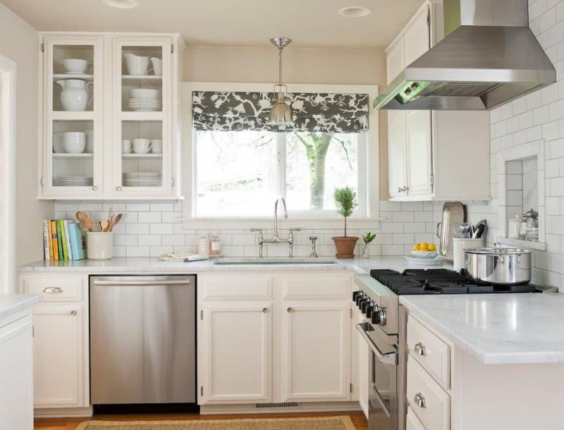 Curtains for kitchen in modern style 9