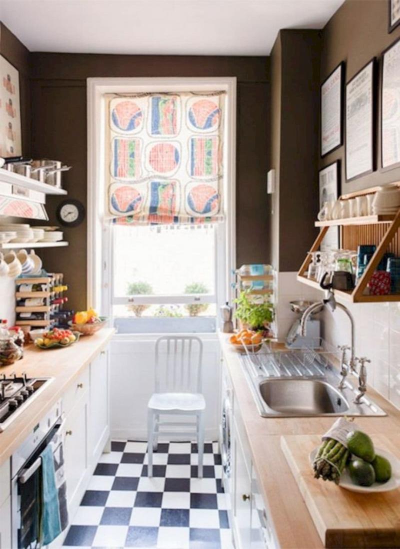 Шторы для кухни в стиле эклектика 4