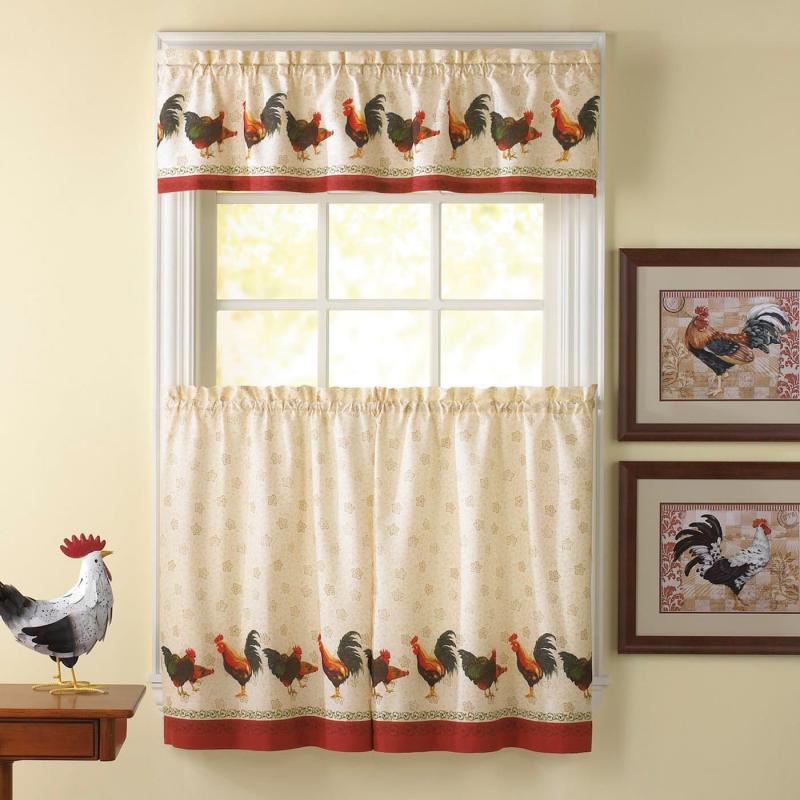 Curtains for kitchen in country style 6