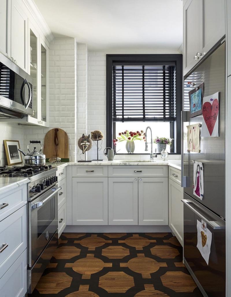 Шторы для маленькой кухни 2