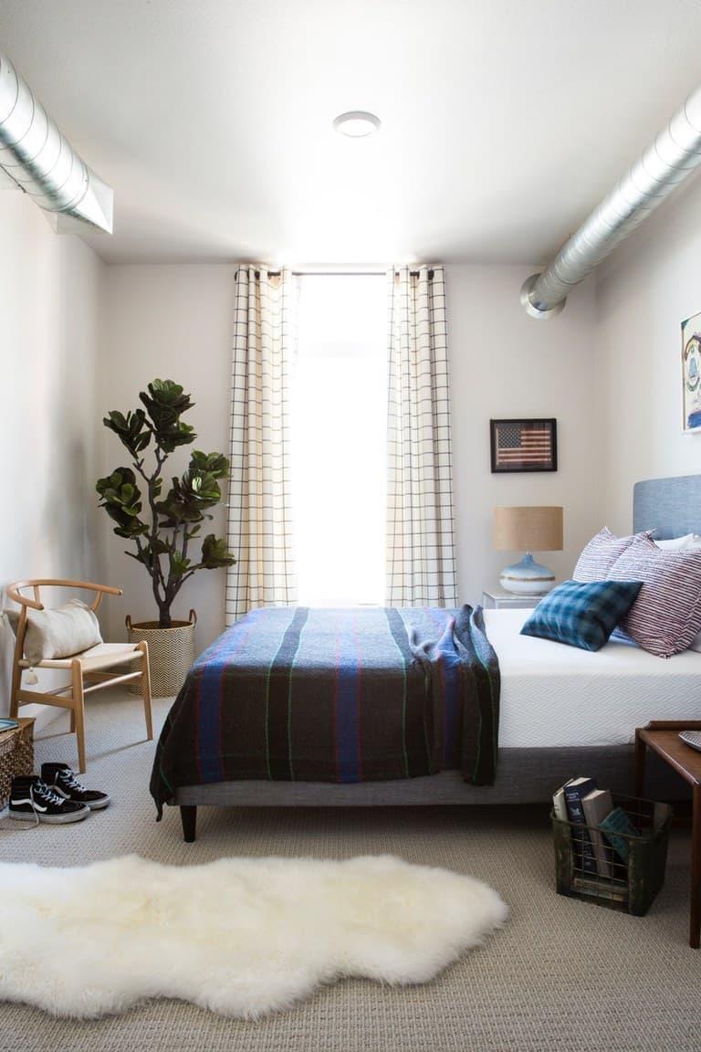 Шторы для маленькой спальни 1