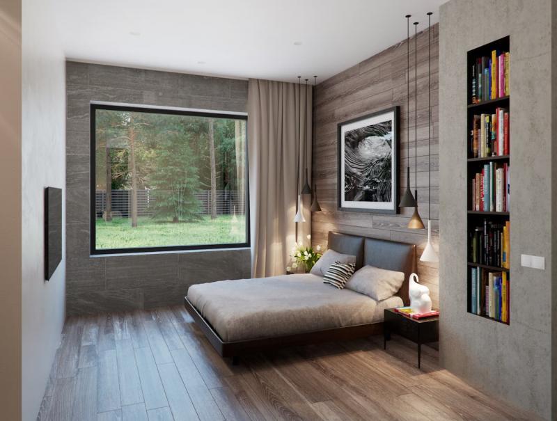 Шторы для маленькой спальни 4