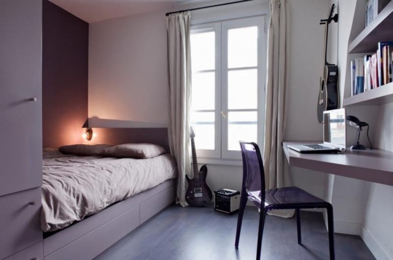 Шторы для маленькой спальни 8