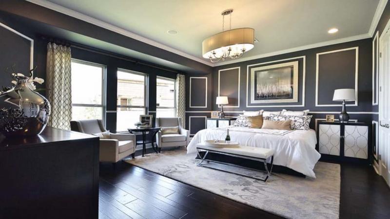 Шторы для спальни в классическом стиле 1