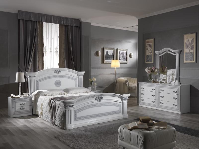 Шторы для спальни в классическом стиле 5